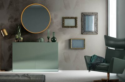 Brands FRANCO AZKARY II SIDEBOARDS, SPAIN AII.06 Sideboard + Mirror