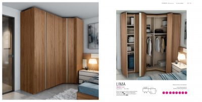 Brands Garcia Sabate, Modern Bedroom Spain YM522 Wardrobe