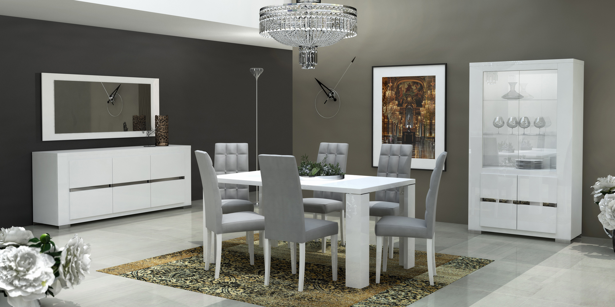 Elegance Dining Room Modern, Modern Dining Room Sets