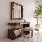 Brands Franco Furniture New BELLA Vanity Chest NB17 Vanity Dresser